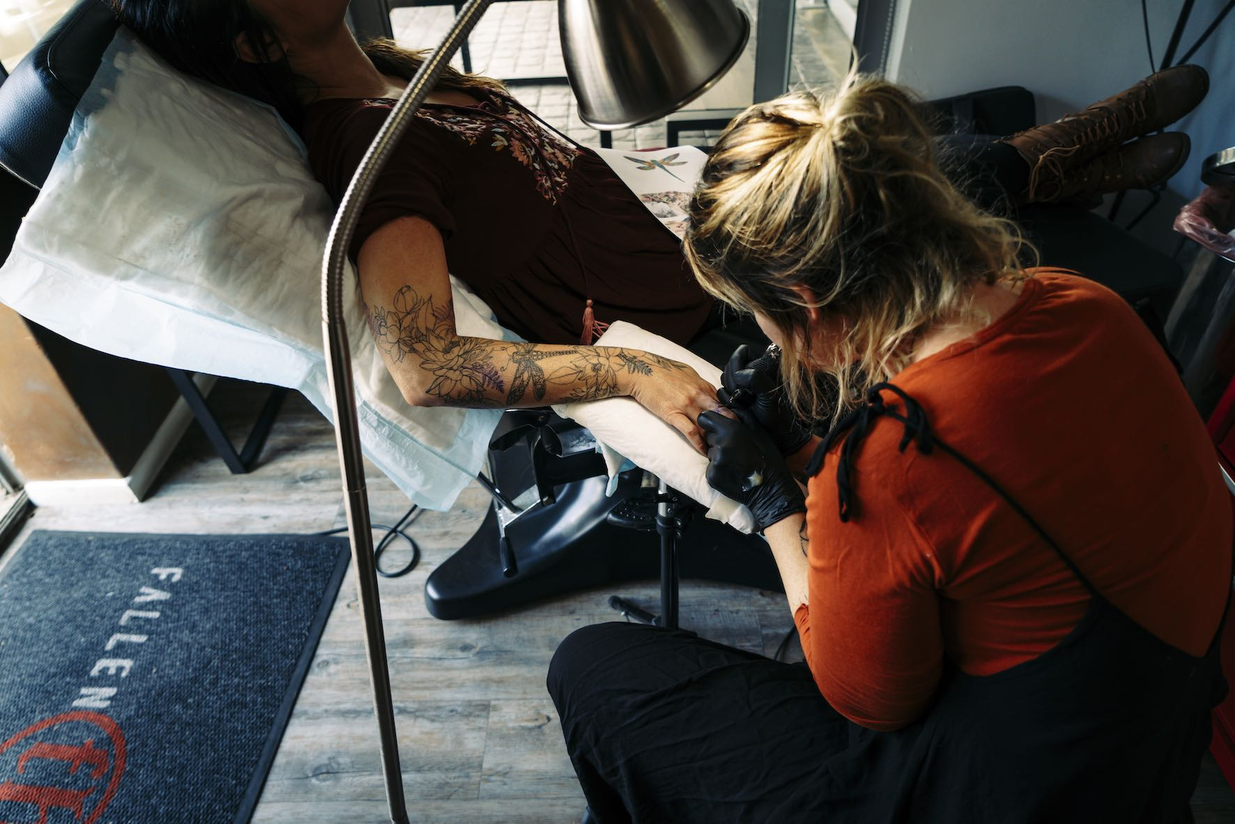 Exclusive interview with tattoo artist, Lauren Peachfish