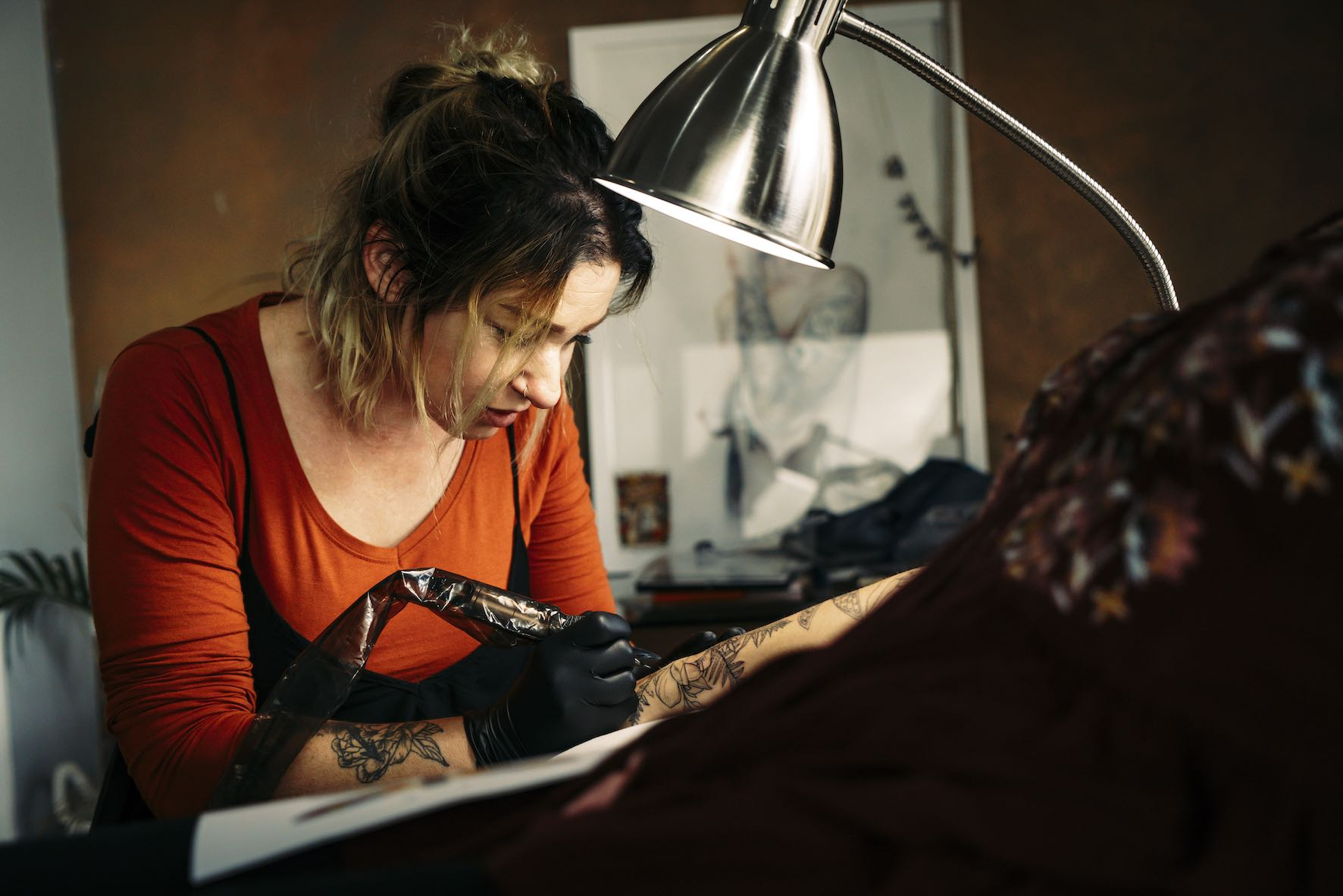 Lauren Peachfish talks tattoos and the tattoo industry