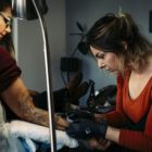 Interview with tattoo artist Lauren Peachfish of Fallen Heroes