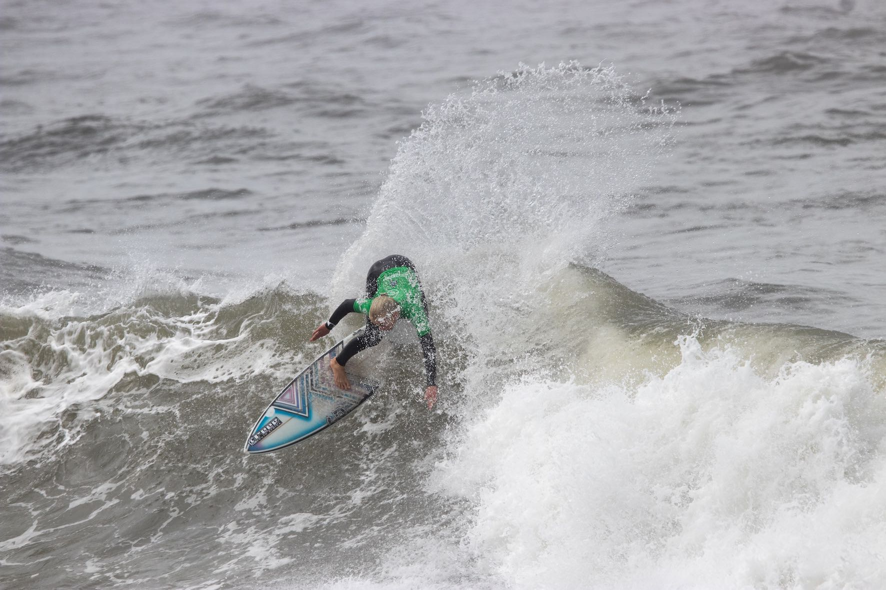 Ceara Knight surfing in the 2019 Royal St Andrews Hotel Port Alfred Surf Classic