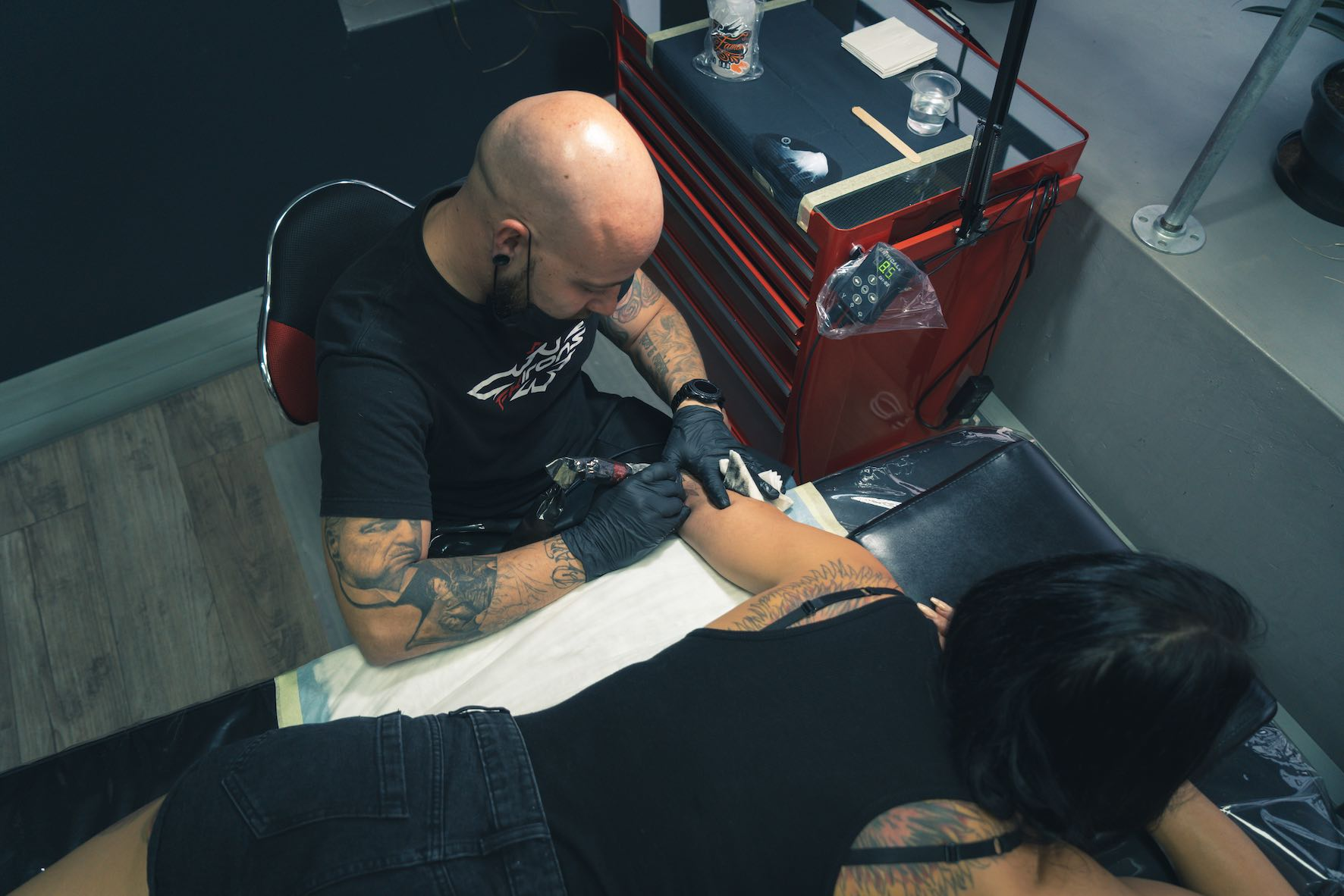 Tony Barcelos features as our Tattoo Artist of the Week