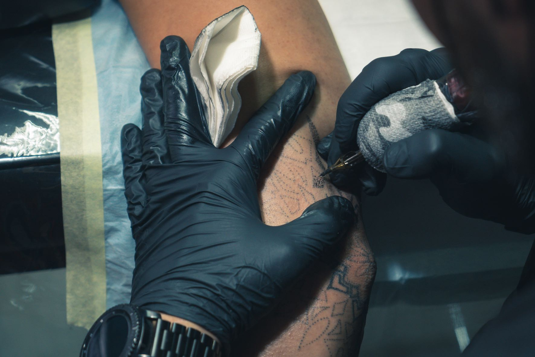 Meet tattoo artist Tony Barcelos working out of Awhe Tattoo and Lifestyle Studio