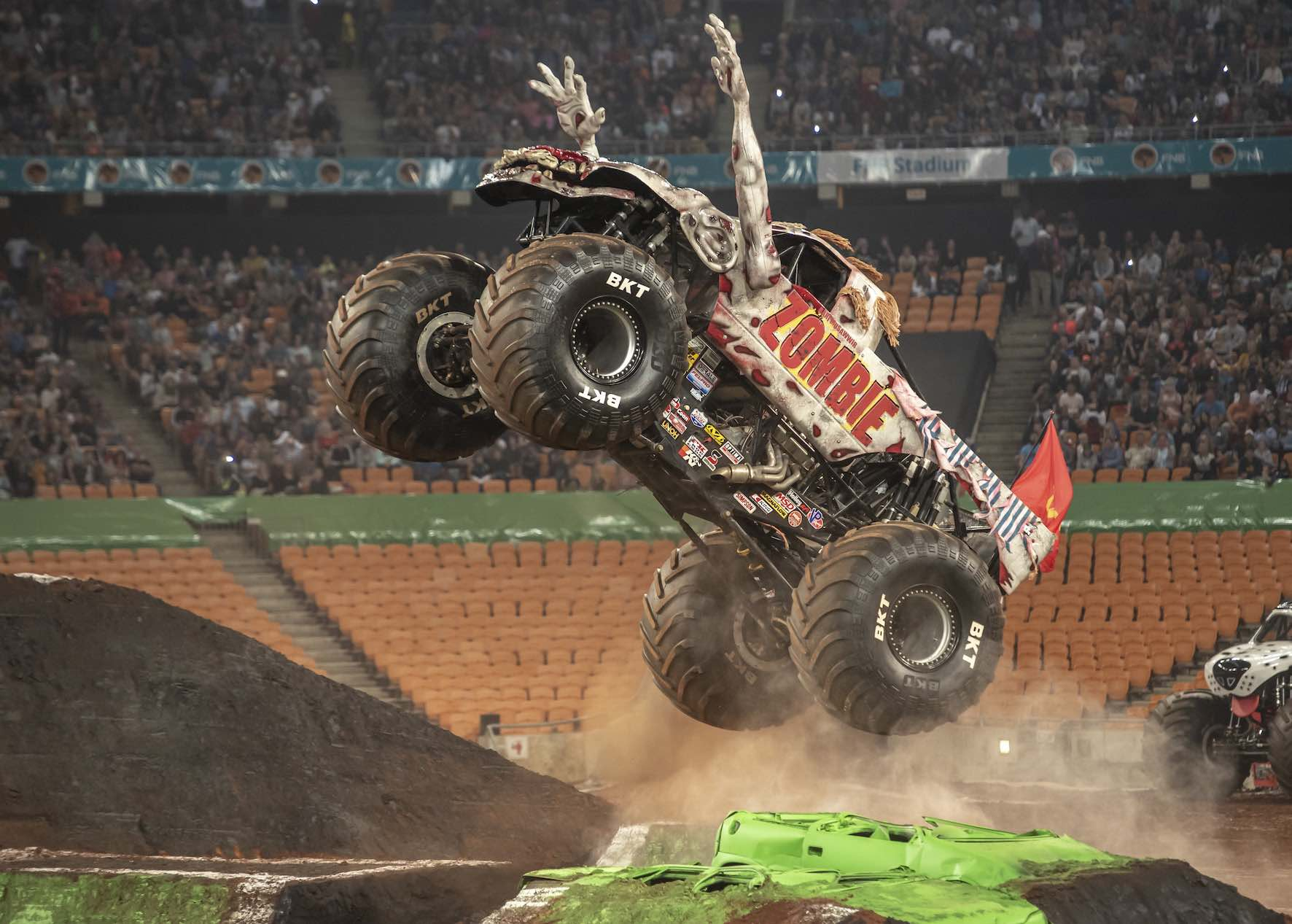 Zombie during Monster Jam South Africa