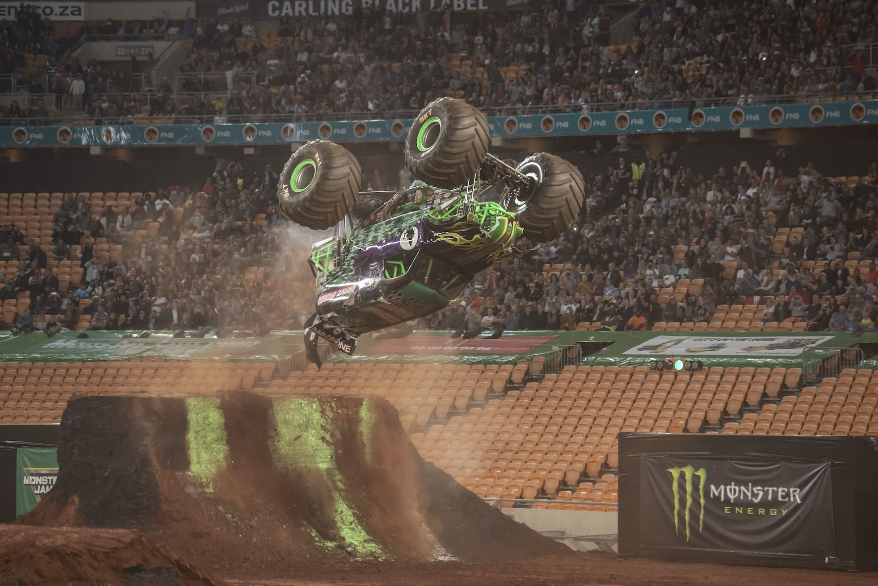Grave Digger during Monster Jam South Africa