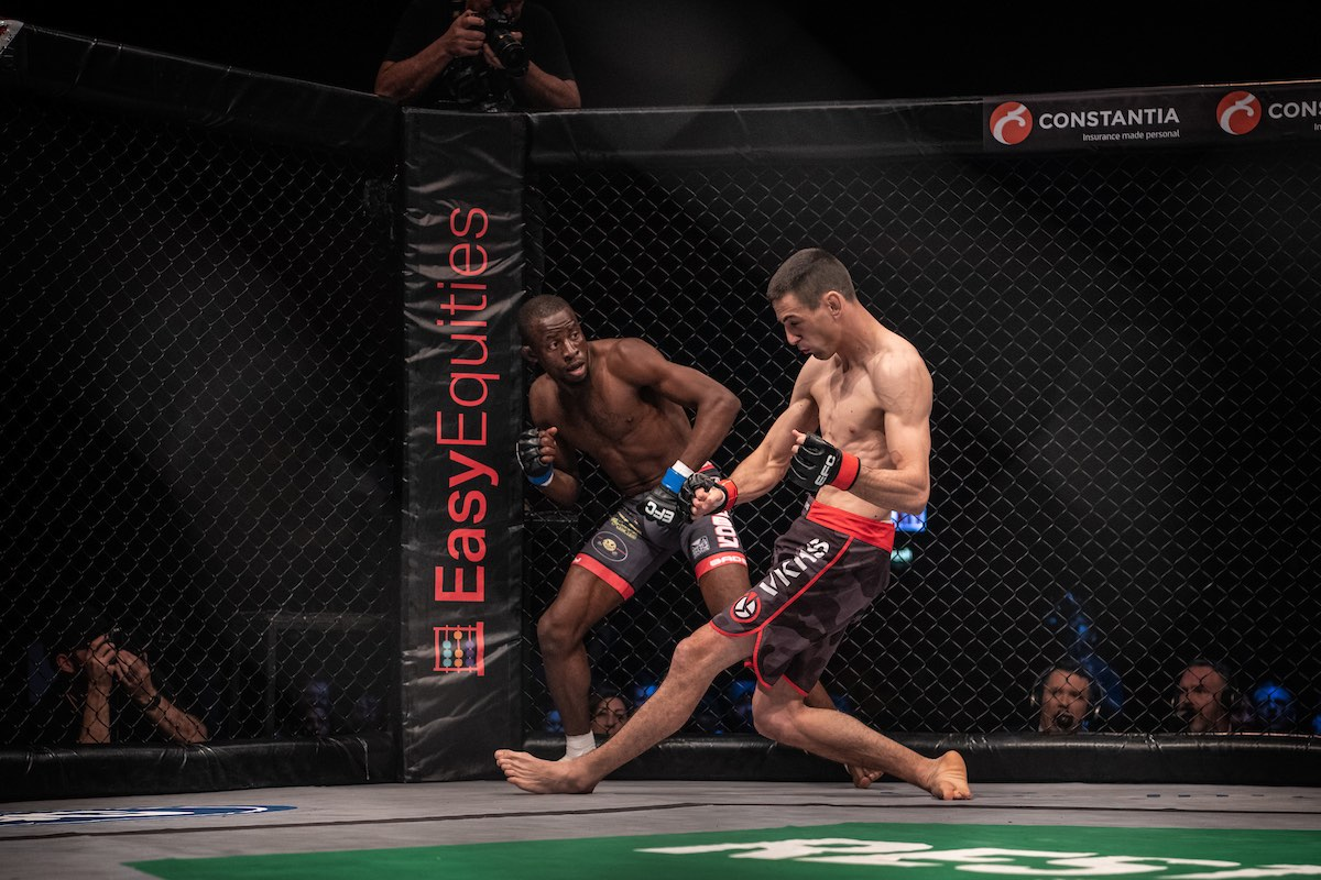 EFC Featherweight Title Fight between Igeu Kabesa and Karlo Caput