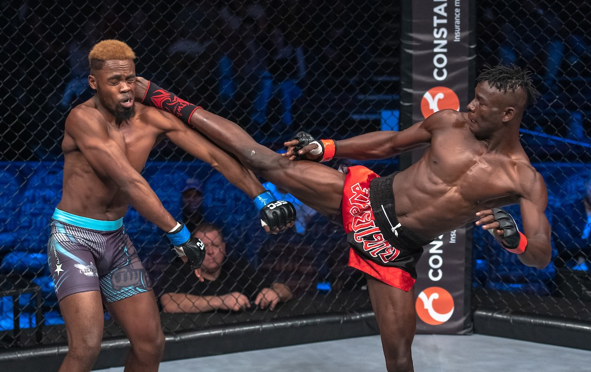 Mixed Martial Arts action from EFC 79 from Carnival City