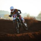 Kayla Raaff racing her way to victory at Round 3 of the SA Motocross Nationals