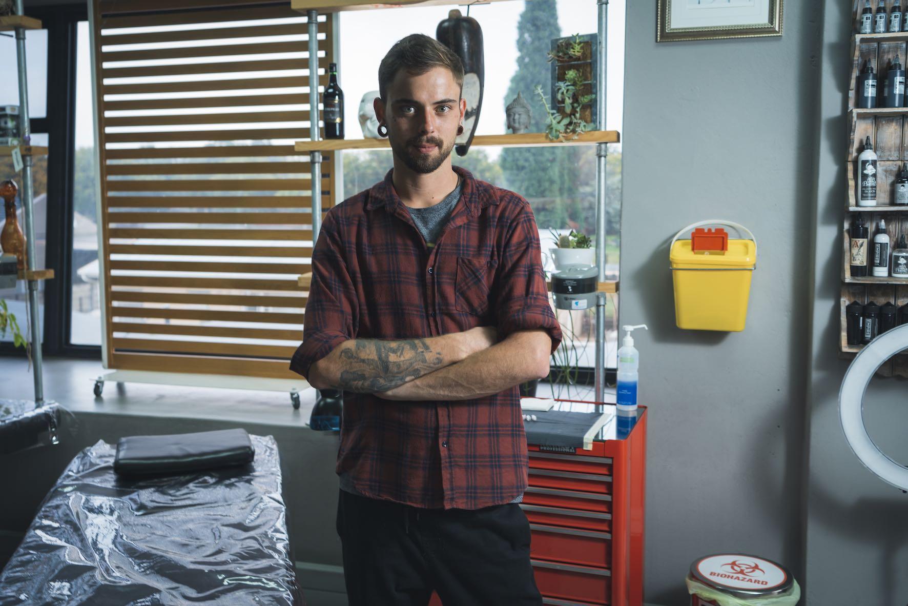 Introducing John Martin Viljoen in this week's Tattoo Artist feature