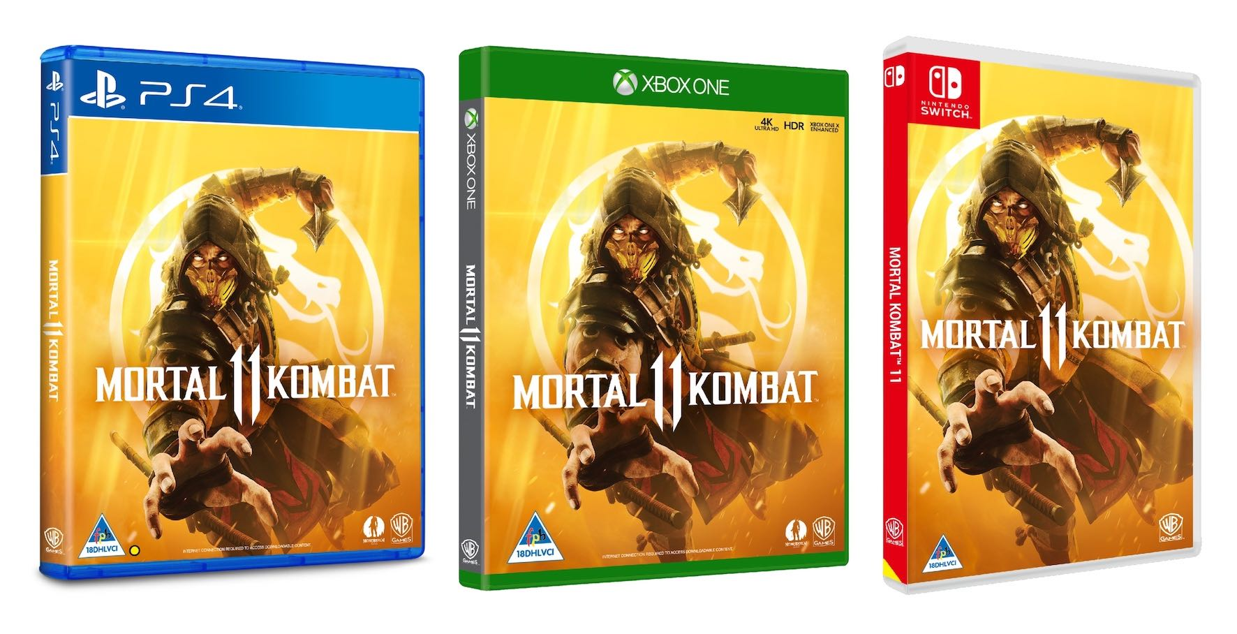 Mortal Kombat 11 avaiable now for Playstation 4, Xbox One and PC