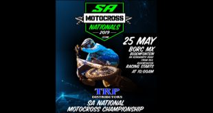 Details for Round 3 of the 2019 TRP Distributors South African National Motocross Championship.