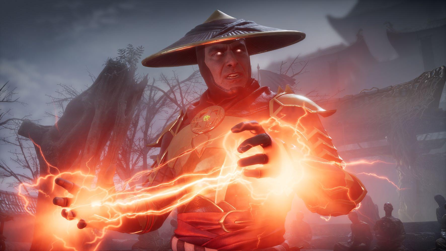 Raiden featured in Mortal Kombat 11