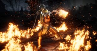 Scorpion featured in Mortal Kombat 11