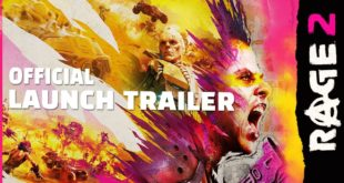 When you're about to get your head sliced in half by the glowing, wrist-mounted fishhook blade of a giant, old, cyborg man, you tend to reflect on the journey that brought you to that very moment. Relatable, right? Once you see the launch trailer for RAGE 2, you'll understand.