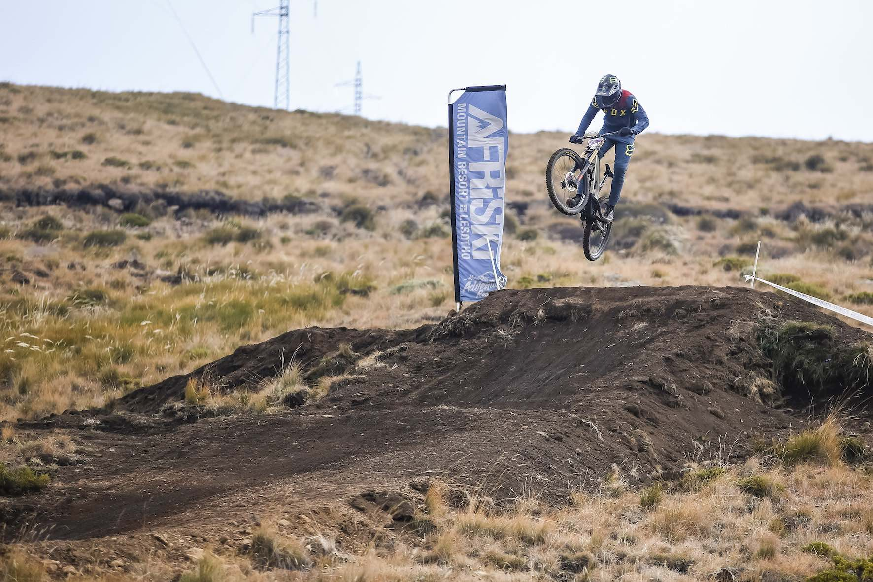 Interview with the 2019 South African Downhill Mountain bike champion, Theo Erlangsen