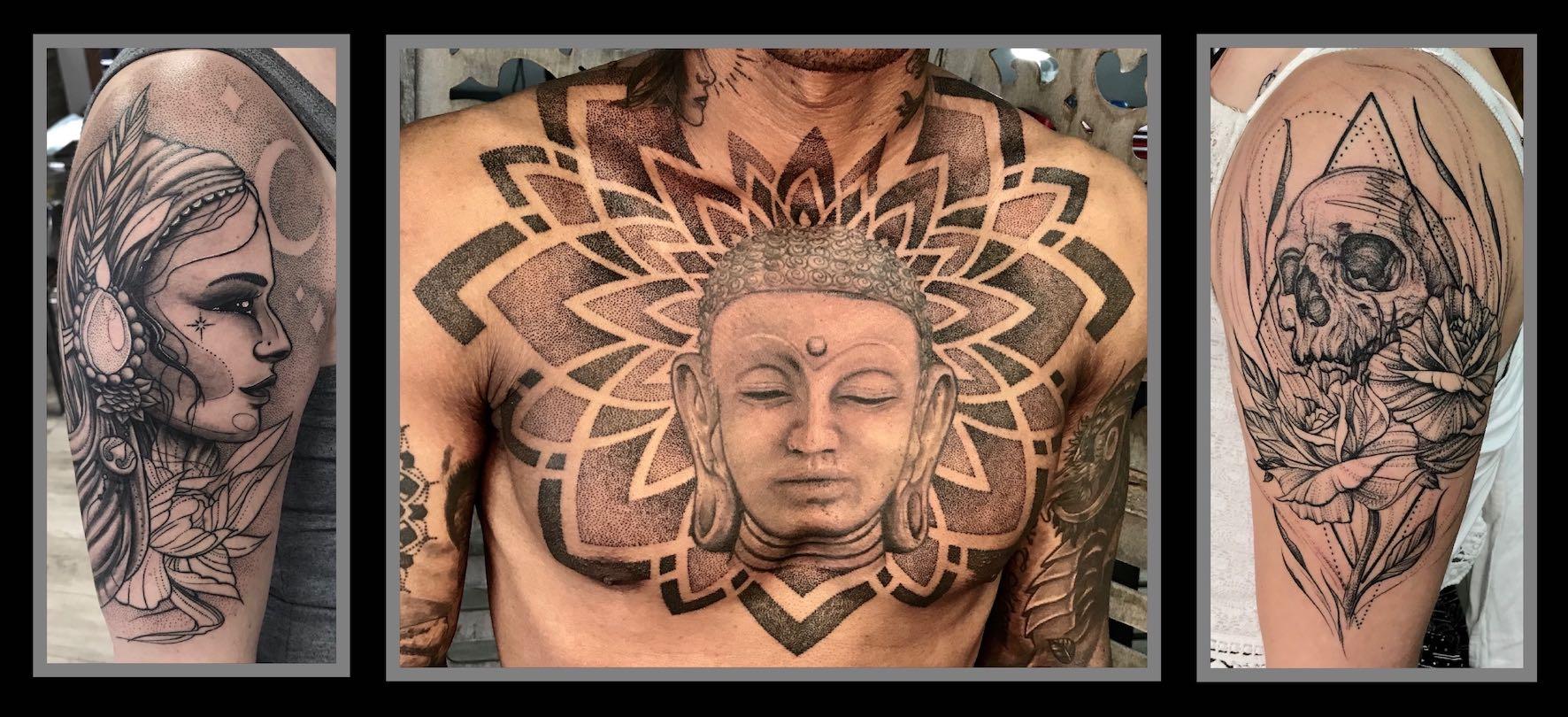 Tattoo work done by John Martin Viljoen