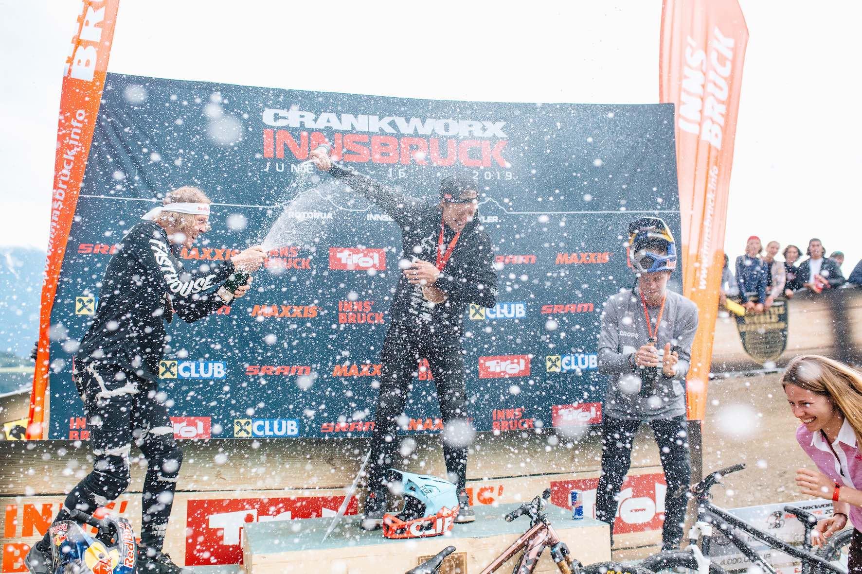 2019 Crankworx Innsbruck Slopestyle MTB Podium
