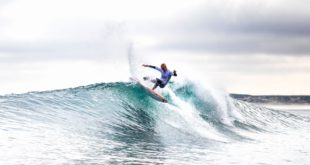 Dylan Lightfoot surfing in the 2019 Vans Surf Pro Classic