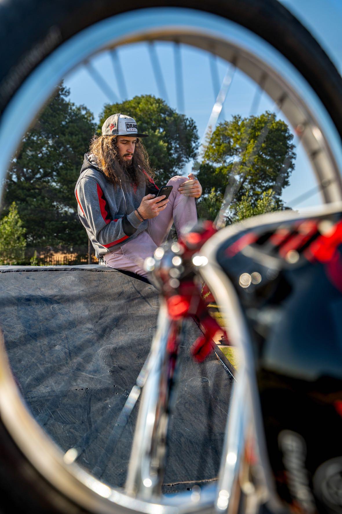 Interview with BMX rider Vincent Leygonie