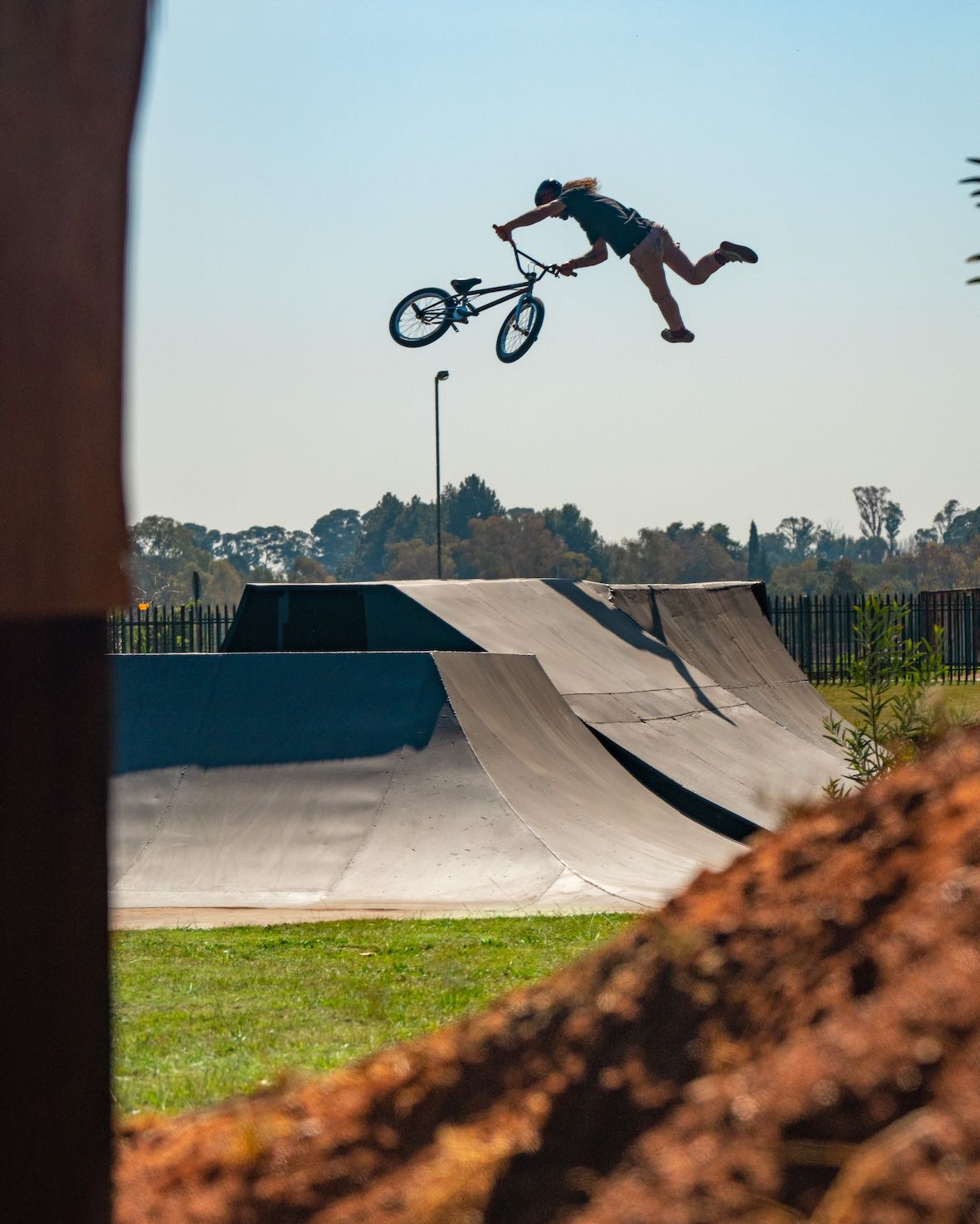 Watch Vincent Leygonie's BMX video part, Backyard Stoke