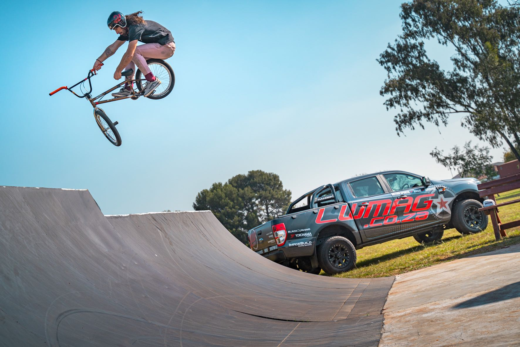 LW Mag and Dragon Energy present Backyard Stoke with BMX rider, Vincent Leygonie