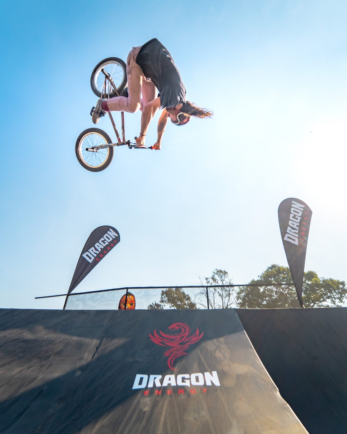 Presenting the Backyard Stoke BMX video part with Vincent Leygonie