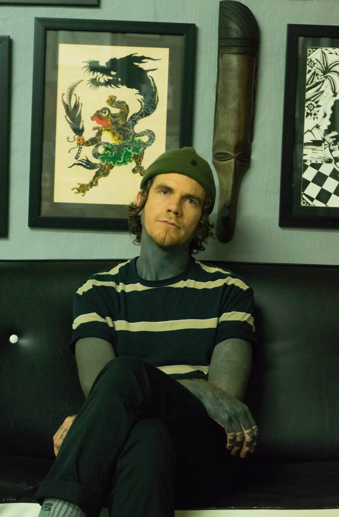 Introducing Tarzan as our Featured Tattoo Artist of the Week