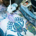 Interview with Hand Poke tattoo artist, Tarzan