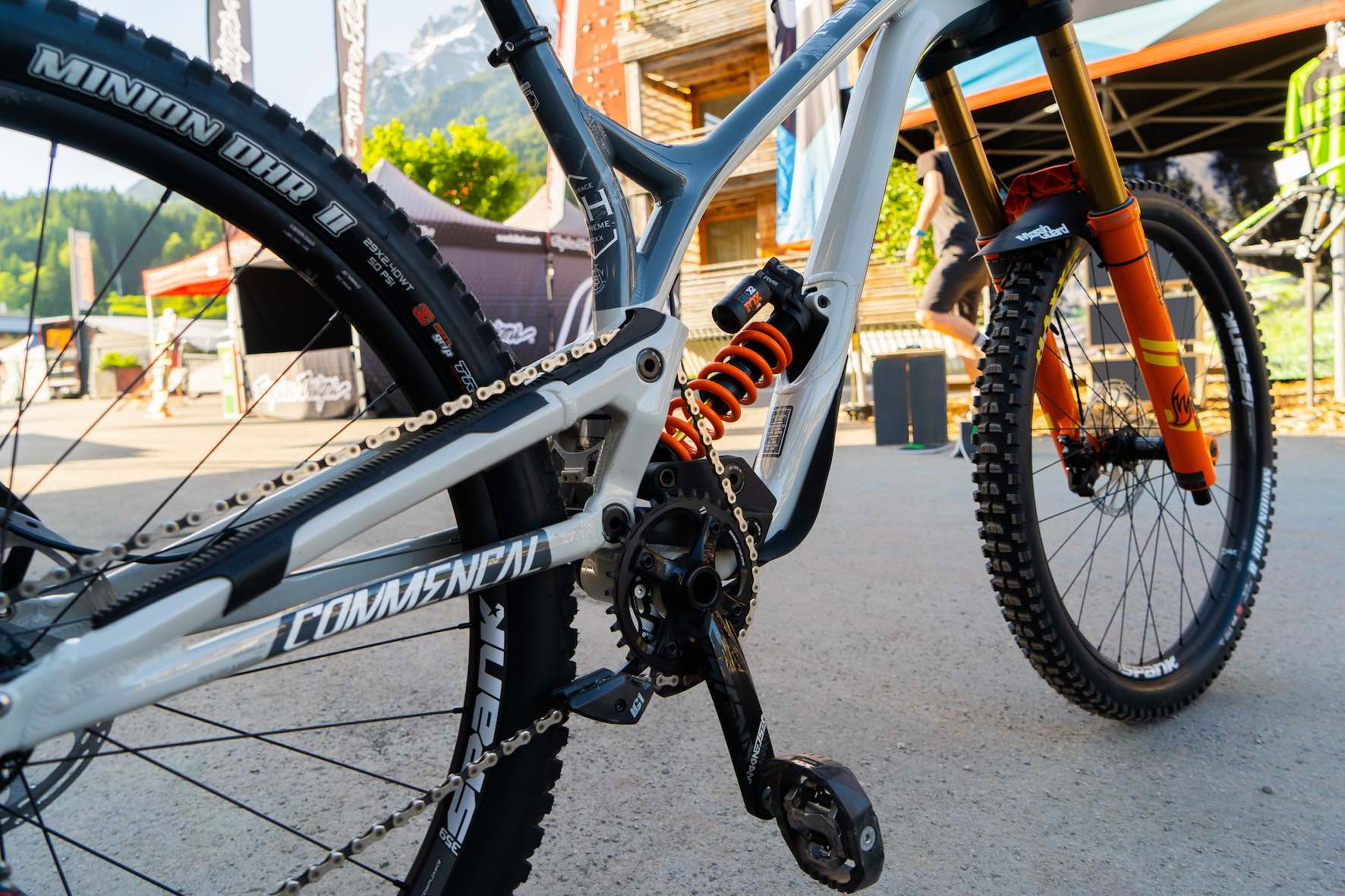 Bike Check with Theo Erlangsen and his Commencal 29 Supreme Downhill Mountain bike