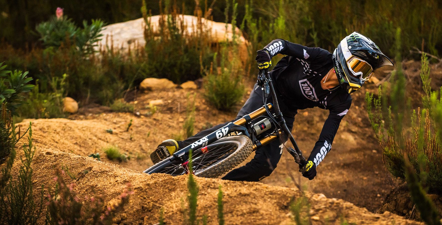 Downhill Mountain Biker, Ike Klaassen joins the Monster Army Family