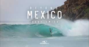 This will get you amped to head down to the beach and go surfing! Jordy Smith threads a few right-handed tubes in his latest O'Neill instalment - Beyond Mexico.