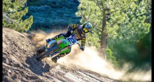 Turn it up! Jeremy McGrath, the King of Supercross, rails his freshly rebuilt 2000 Factory Kawasaki KX 500 on the iconic Mammoth Motocross track. Braaaap...