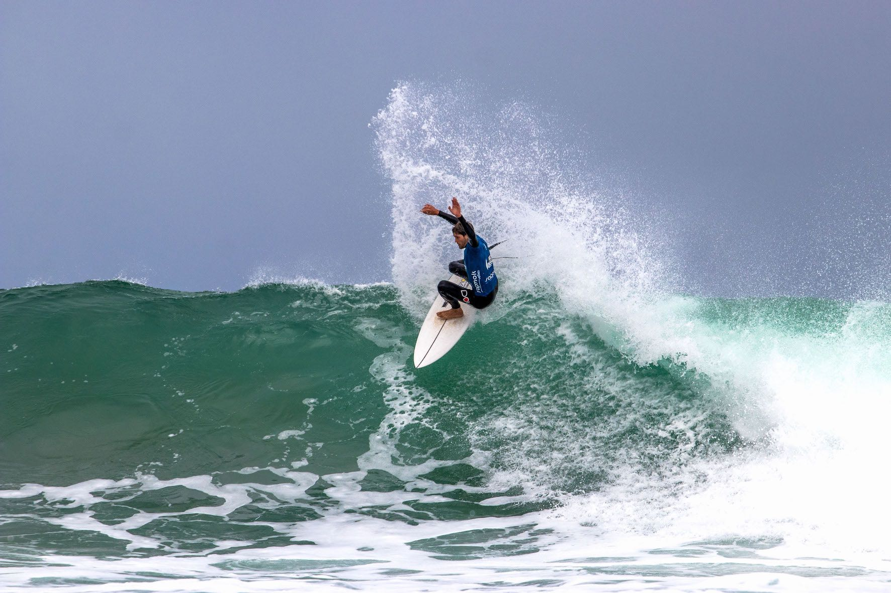 Slade Prestwich surfing in the 2019 Vic Bay Classic