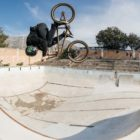 Malcolm Peters competing in the Waffle Jam 2019 BMX contest