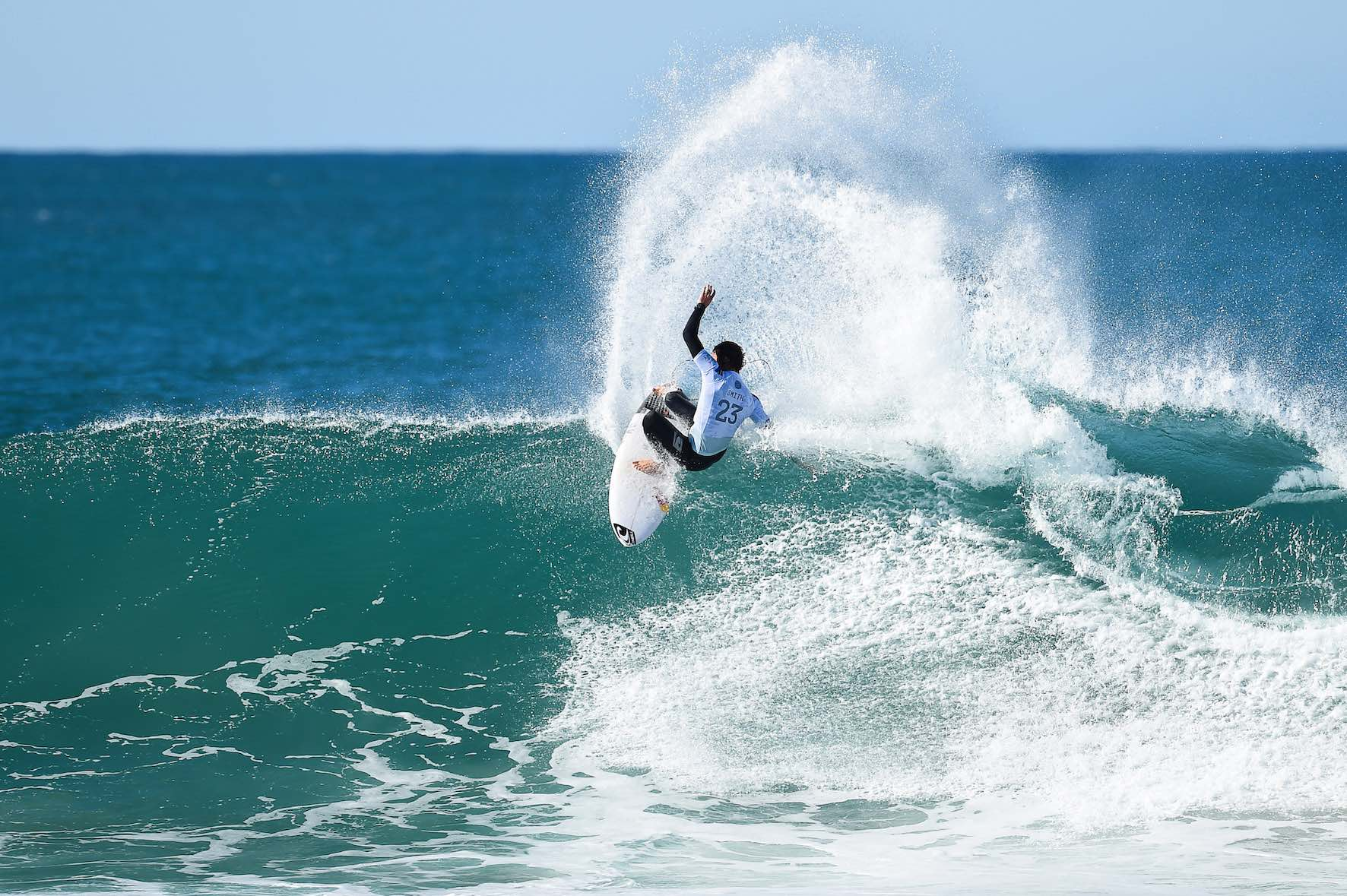 South Africa's top professional surfer, Jordy Smith