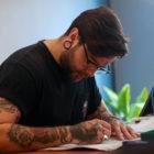 Meet Mason Murdey as our featured Tattoo Artist of the Week