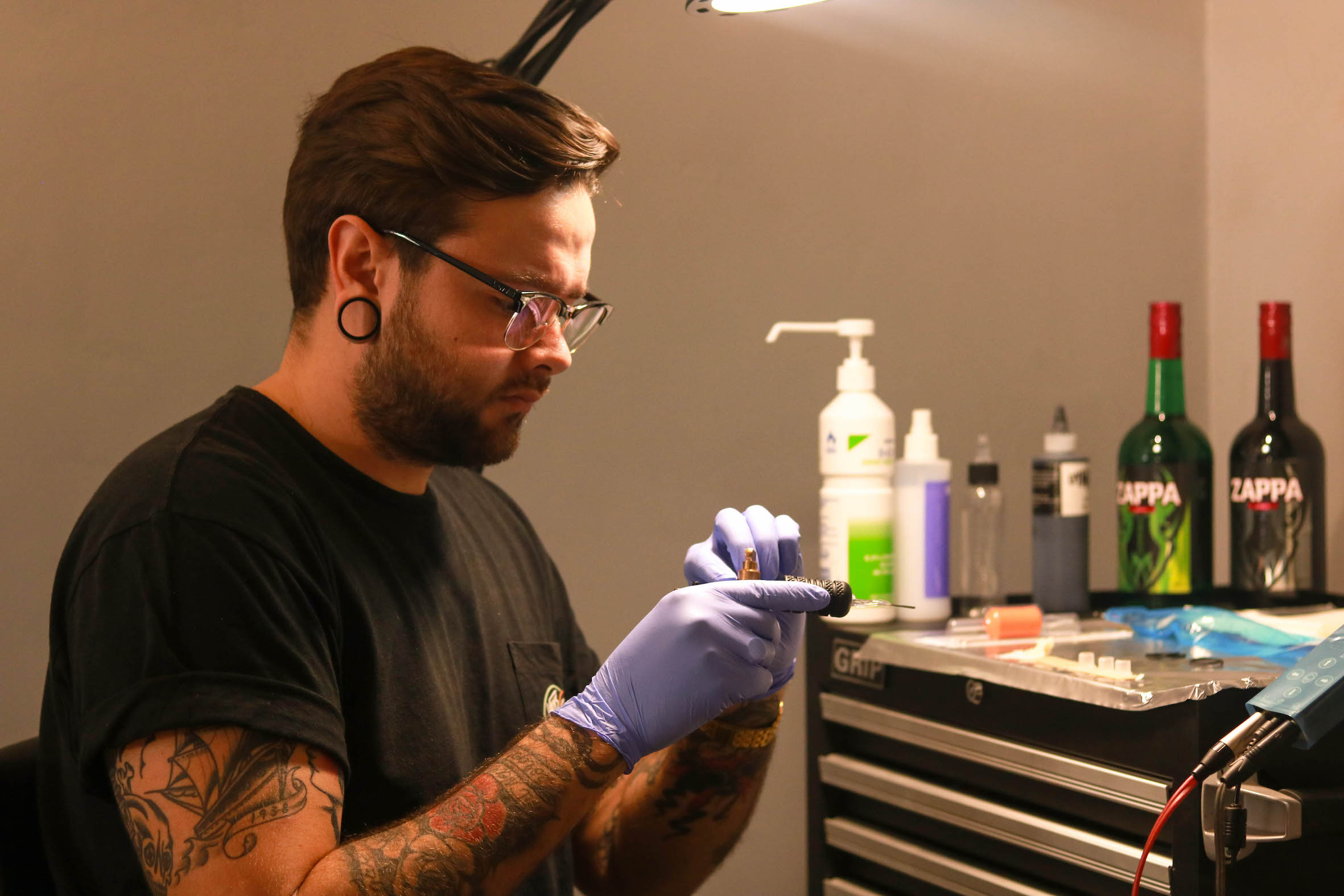 Meet our featured tattoo artist, Mason Murdey