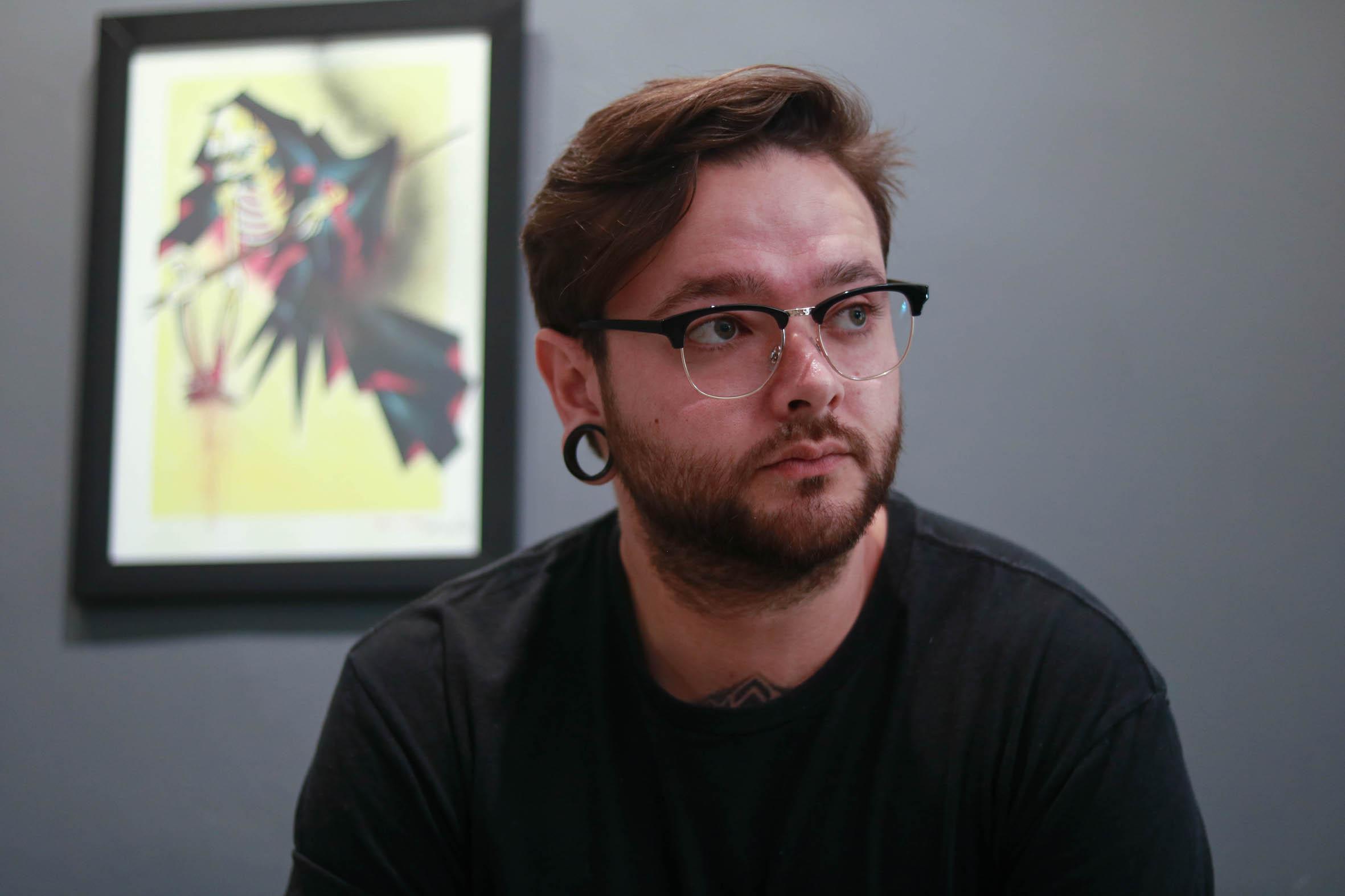 Meet Mason Murdey as our featured Tattoo Artist