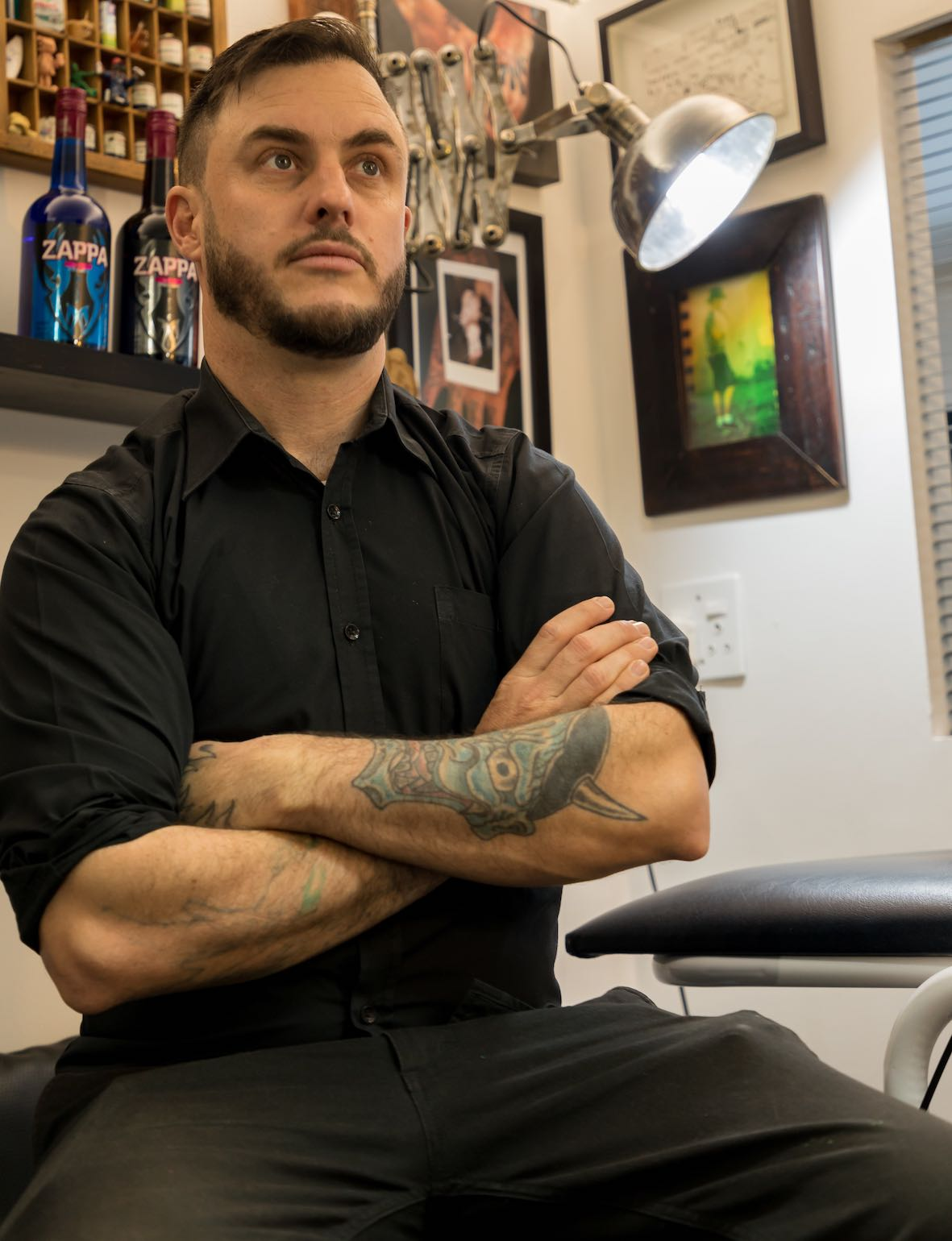 Meet Tyler B. Murphy as our Features Tattoo Artist