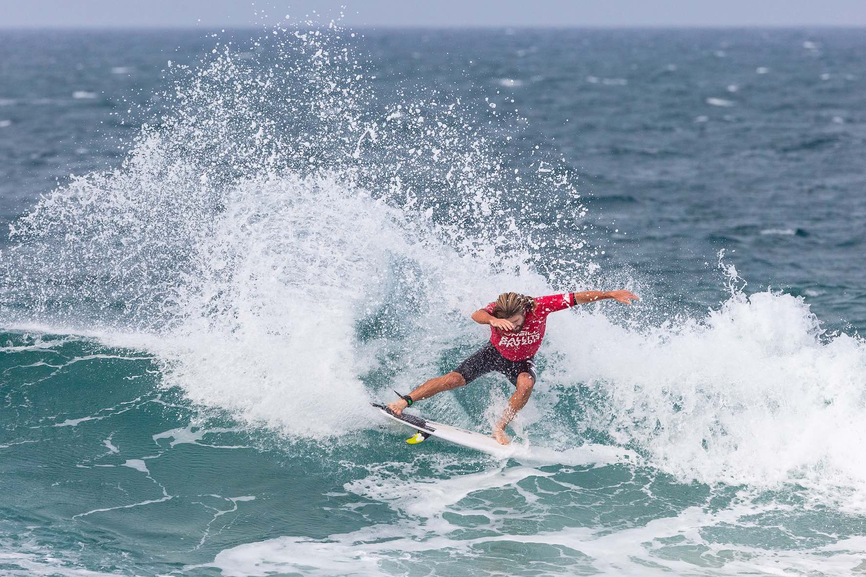 Wade Carmichael surfing in the 2019 Ballito Pro
