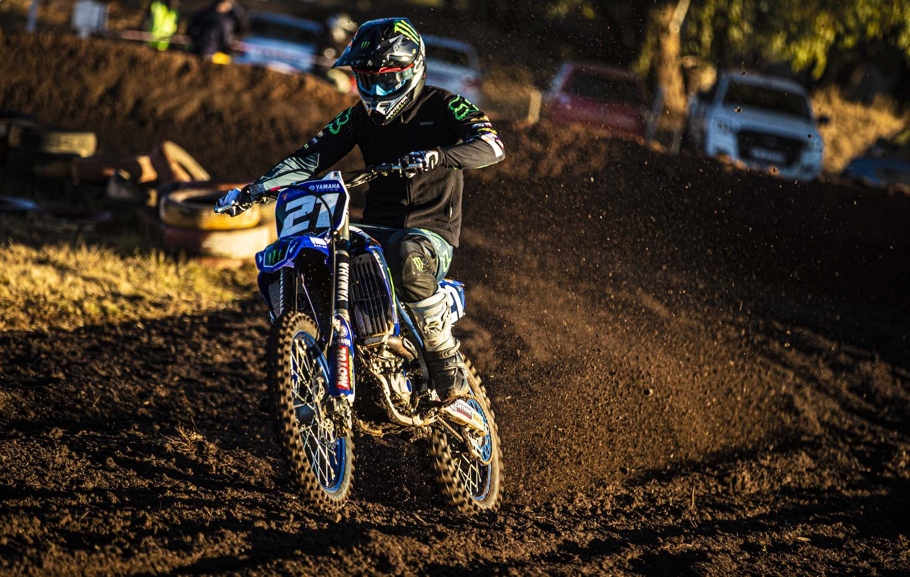 David Goosen racing Round 4 of the 2019 SA Motocross Nationals at Dirt Bronco
