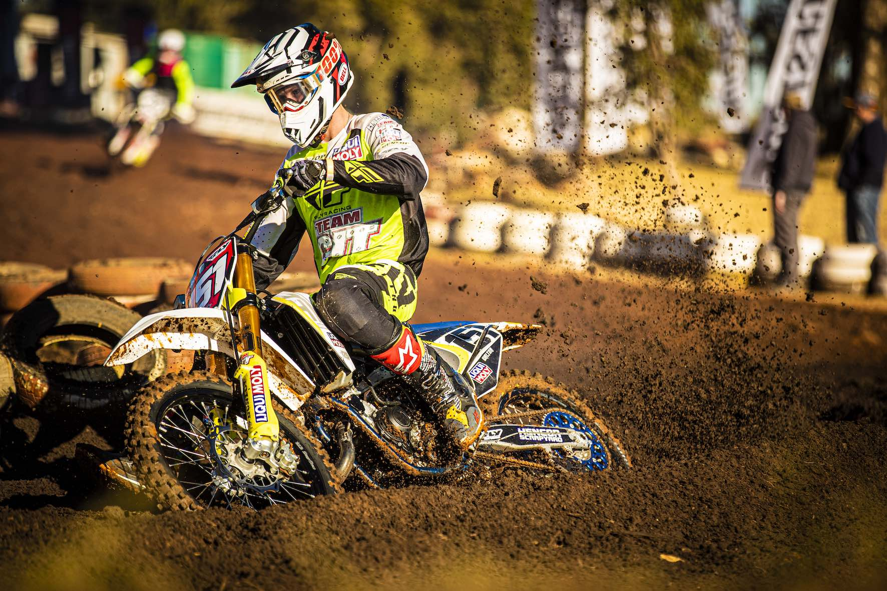 Dalton Venter racing Round 4 of the 2019 SA Motocross Nationals at Dirt Bronco
