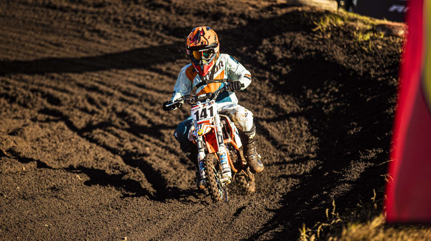 Christian Berrington-Smith racing Round 4 of the 2019 SA Motocross Nationals at Dirt Bronco