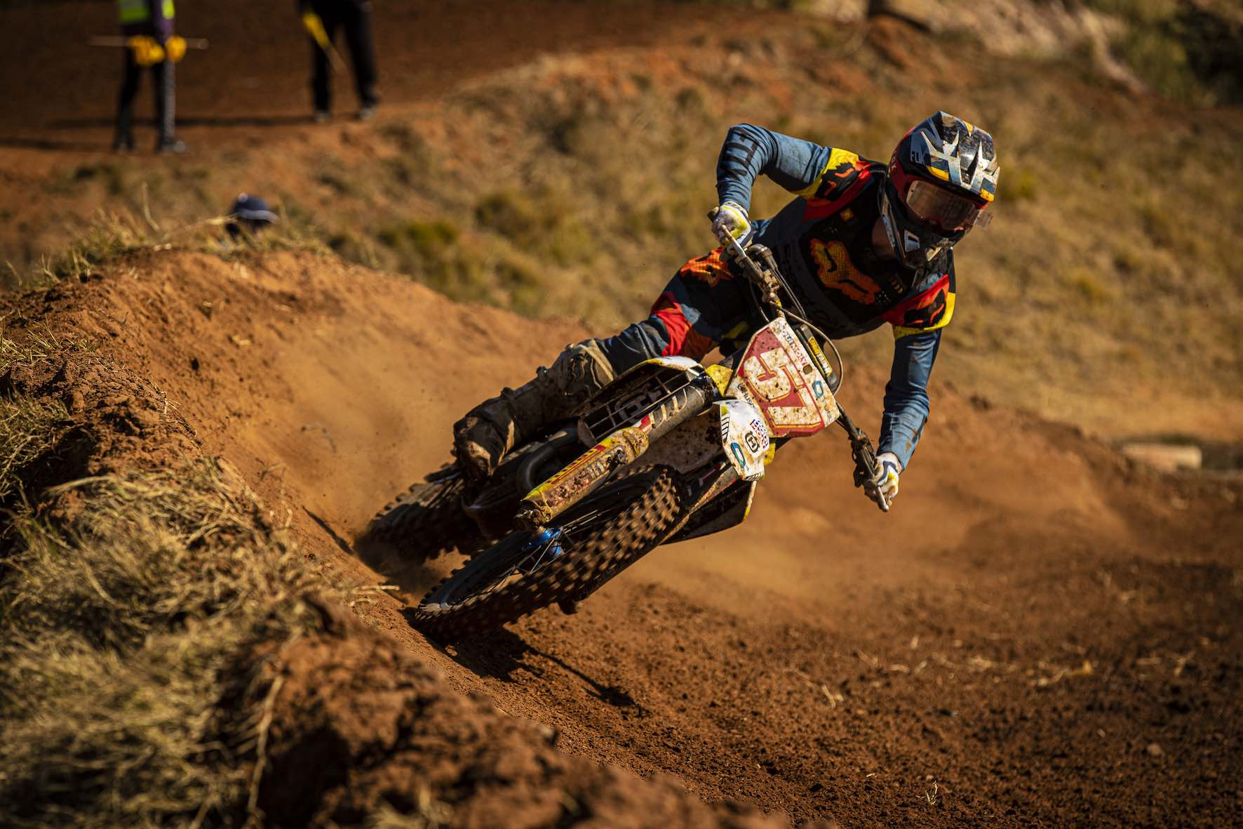 Maddy Malan racing Round 4 of the 2019 SA Motocross Nationals at Dirt Bronco