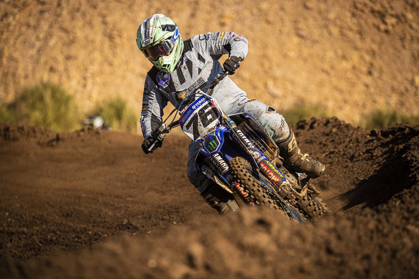 Ian Topliss racing Round 4 of the 2019 SA Motocross Nationals at Dirt Bronco
