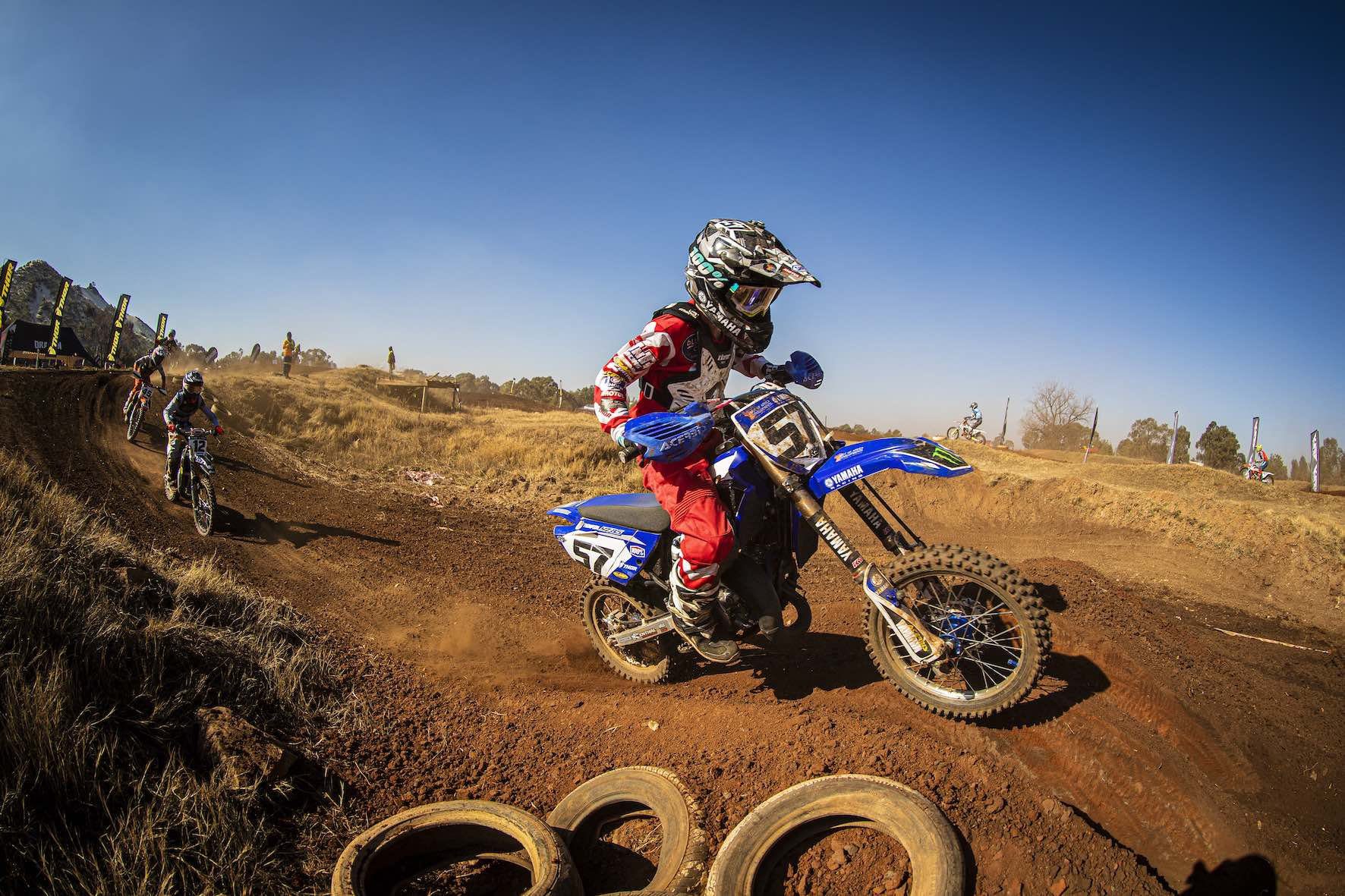 James Thompson racing Round 4 of the 2019 SA Motocross Nationals at Dirt Bronco