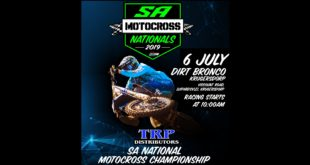 Details for Round 4 of the 2019 TRP Distributors South African National Motocross Championship at Dirt Broncos