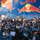 Riders briefing at the 2019 Ultimate Ears Winter Whip