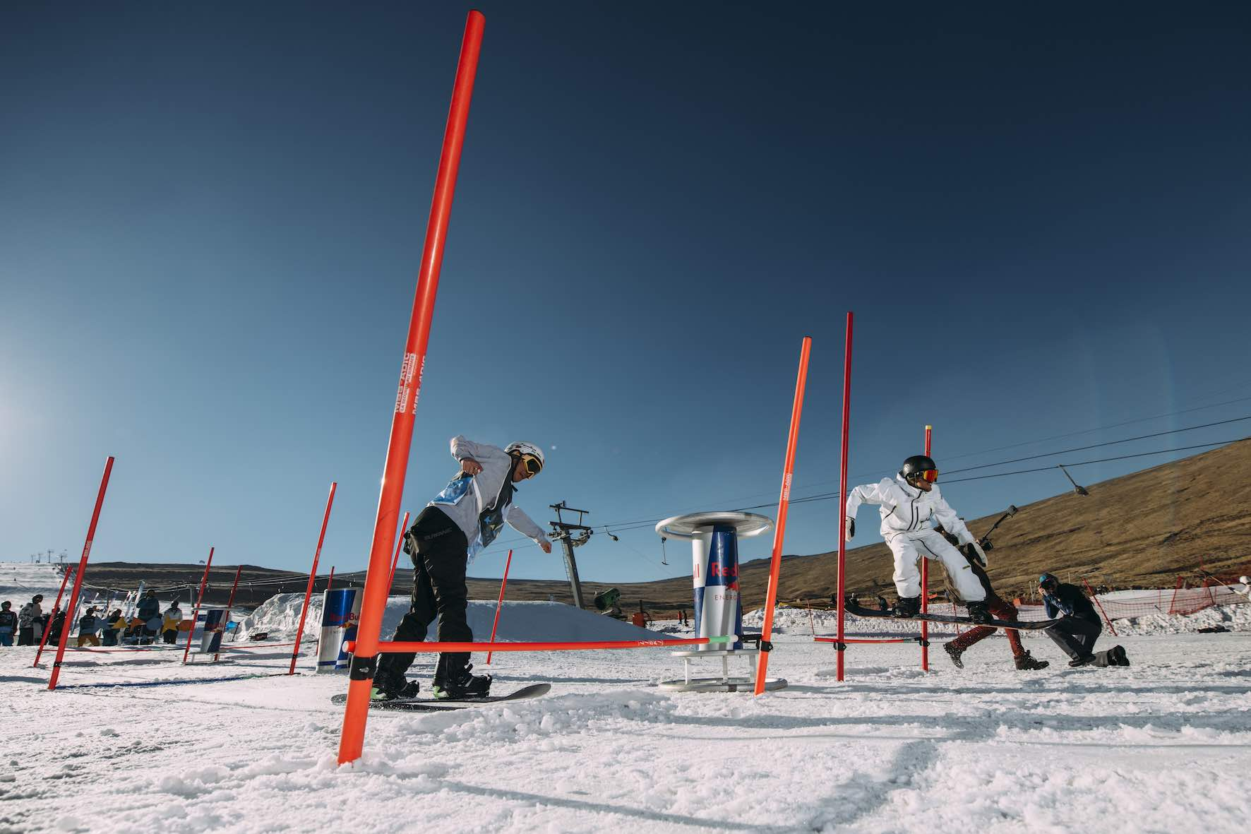 The Red Bull Ollie-Off at the 2019 Winter Whip at Afriski