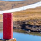 A views of the Afriski mountain slope with the The Ultimate Ears MEGABOOM 3 wireless speaker