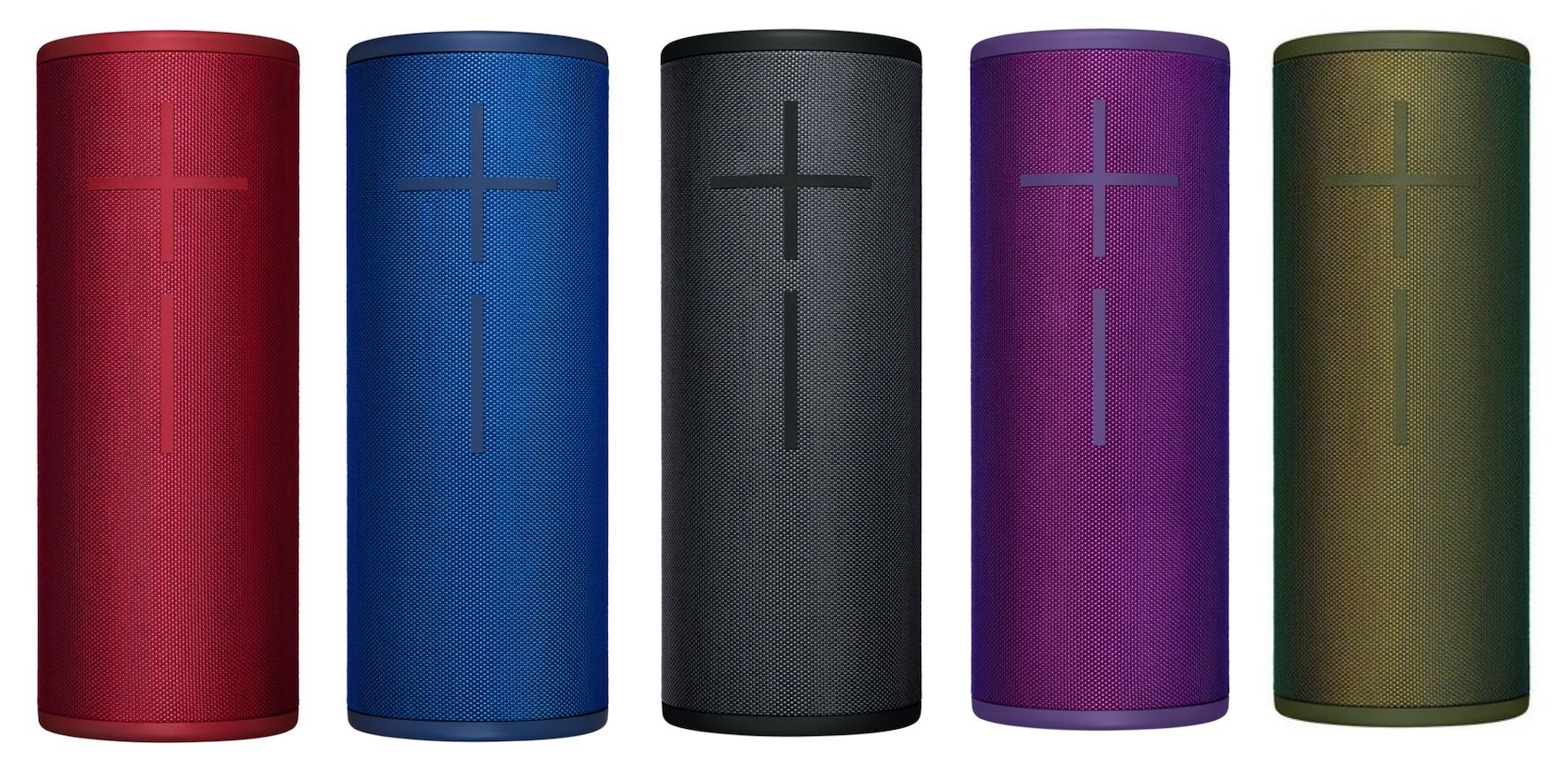 The Ultimate Ears MEGABOOM 3 wireless speaker is viable in the following colours